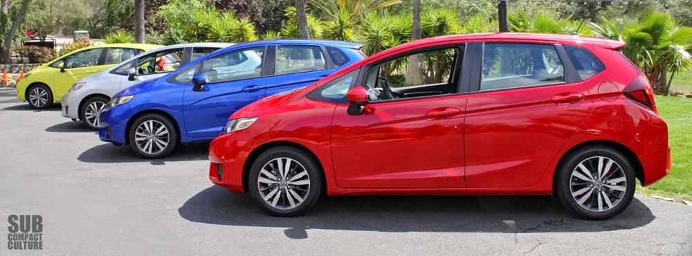 2015 Honda Fit Lineup