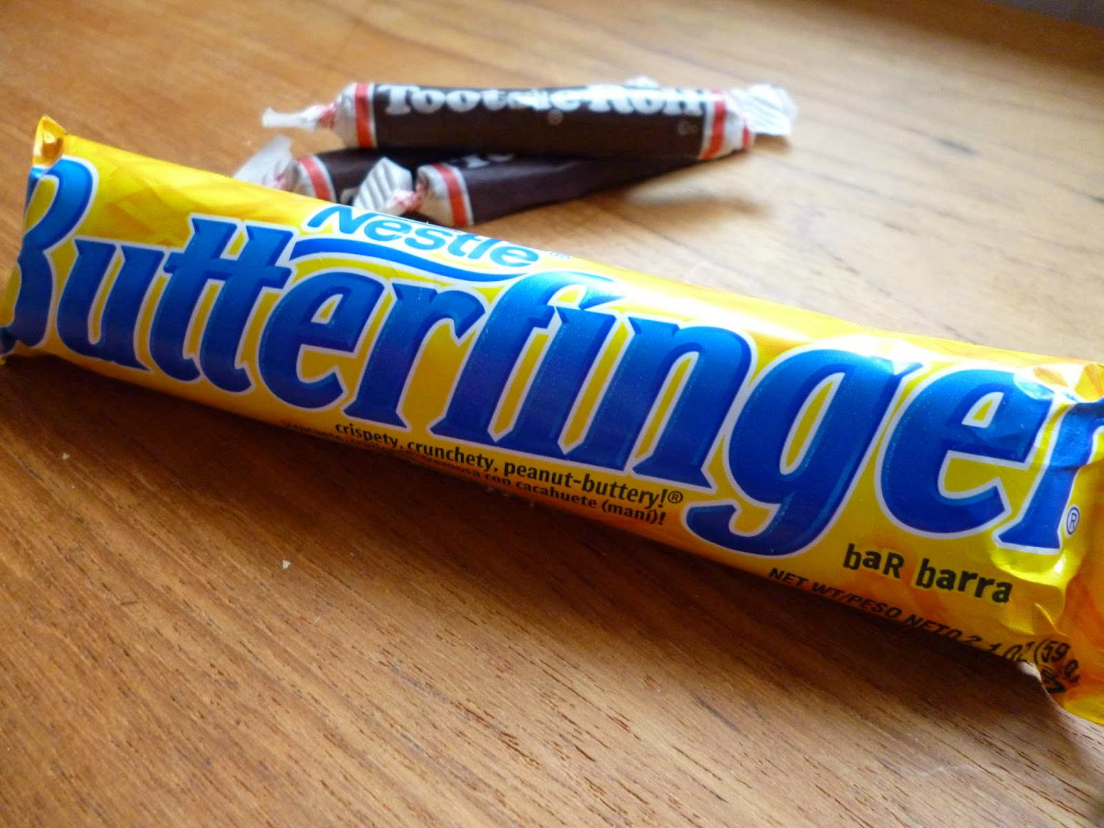 Butterfinger chocolate candy bar