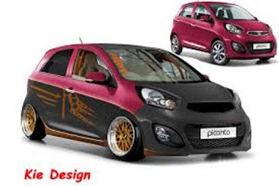 Gambar modifikasi Kia Picanto