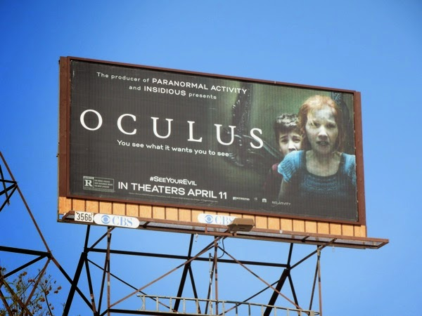 Oculus movie billboard