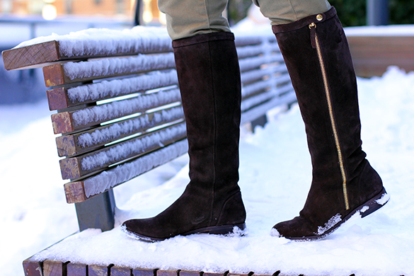 J.Crew Brown Suede Boots
