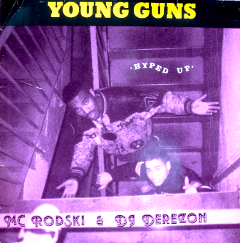 Young Guns – Hyped Up (1989, EP Vinyl, 256)