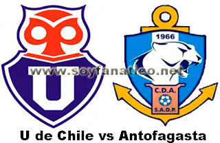 Universidad de Chile vs Deportes Antofagasta 2013
