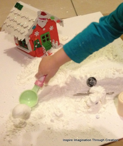 how to make goo with cornflour and water