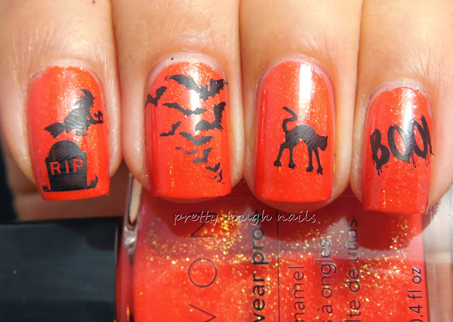 Avon Apple Of His Eye with Halloween Stamping