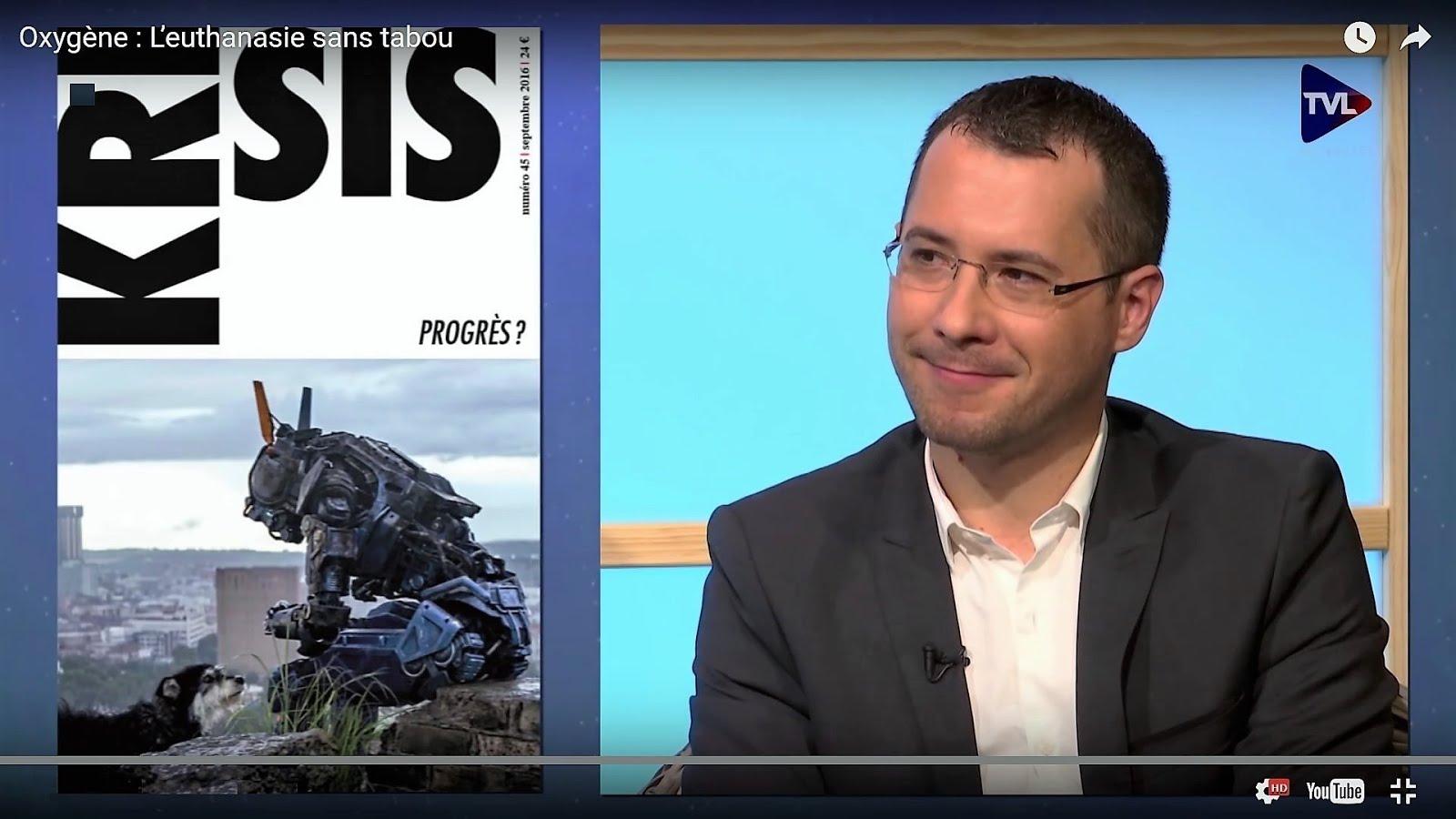 Euthanasie et progrès médical : débat TV Libertés