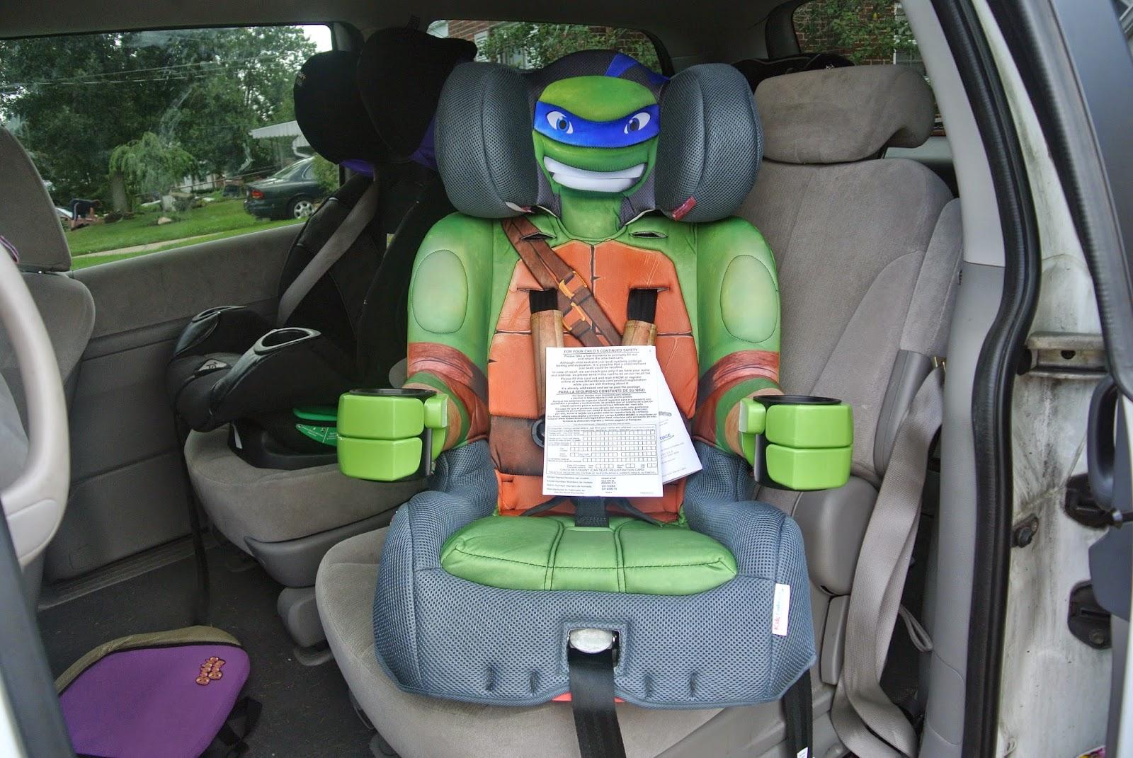 Teenage Mutant Ninja Turtles Car Seat Giveaway