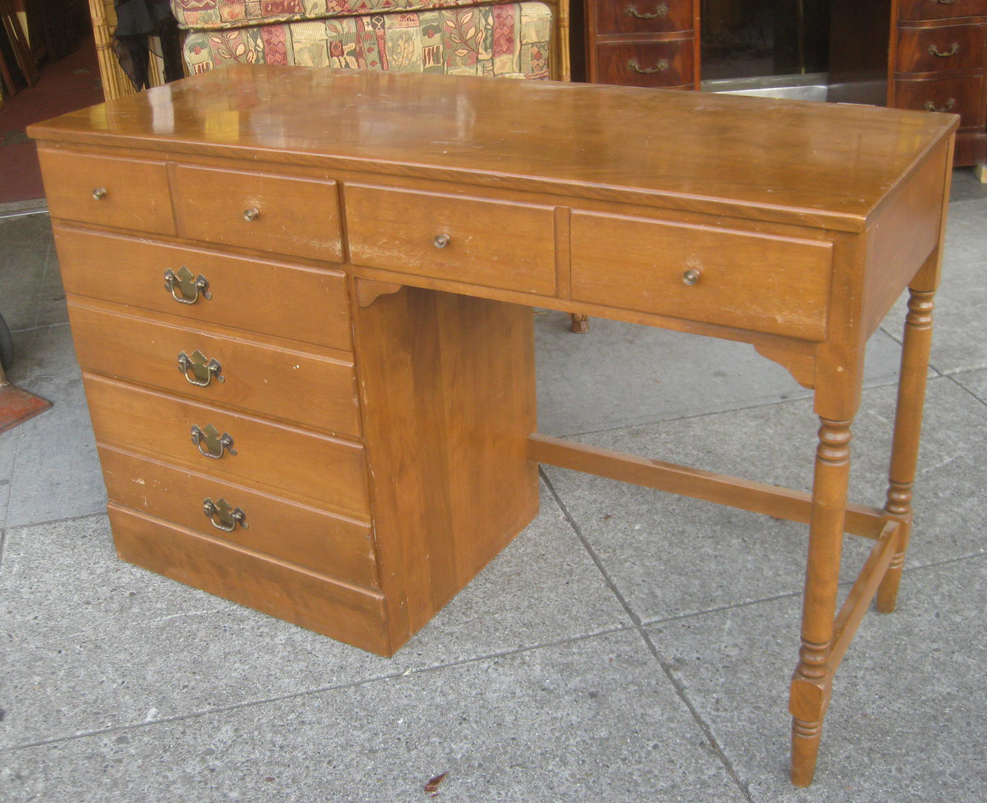 Uhuru furniture collectibles sold maple ethan allen
