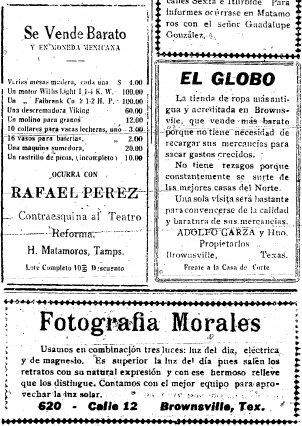Somos primos texas newspaper on 20 april 1925 fandeluxe Choice Image
