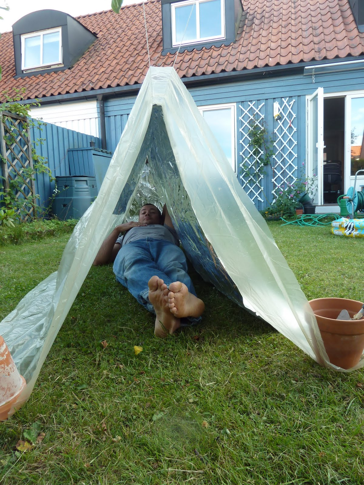 Diy Car Shelter Camping : Cesar and the woods my favorite diy myog camping shelter