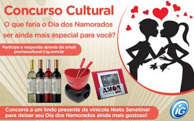 Concurso Cultural Dia dos Namorados do iG 2013