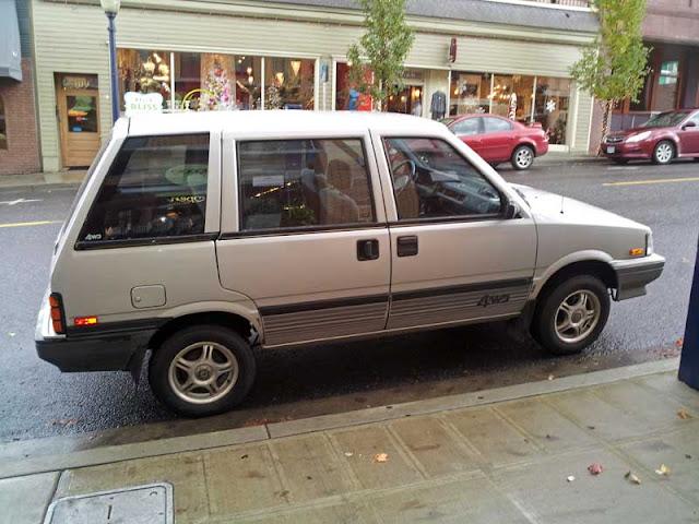 Nissan Stanza 4x4 Wagon - Subcompact Culture