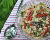 July - Greek Pasta Salad