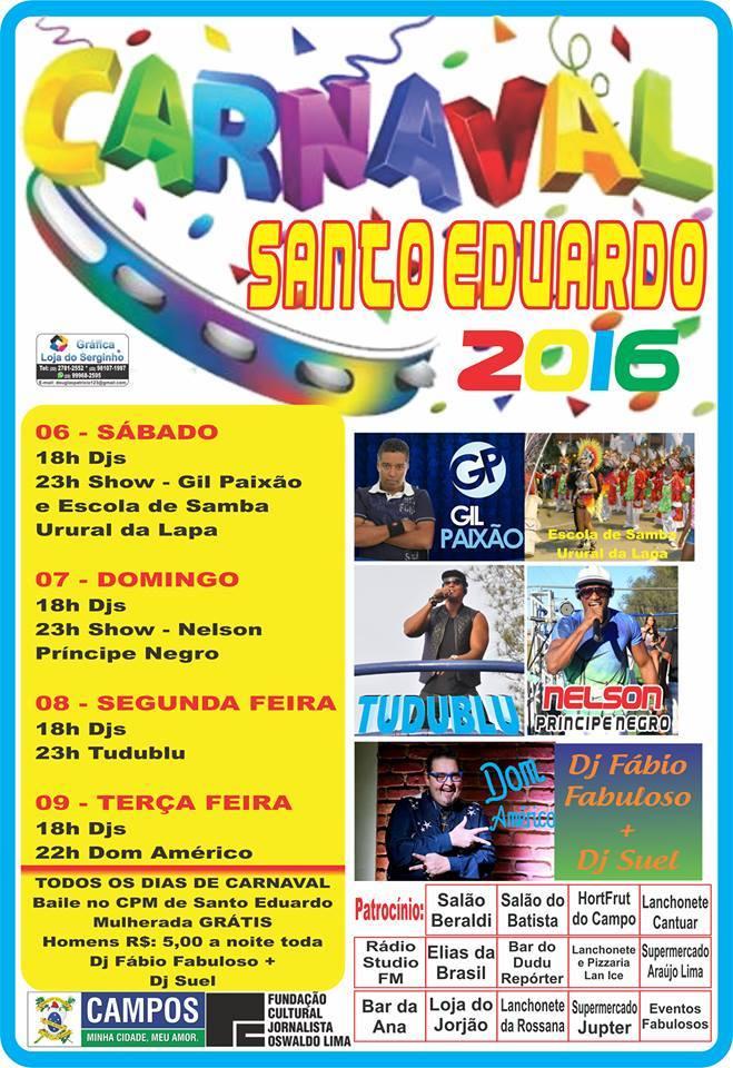 Carnaval em Santo Eduardo