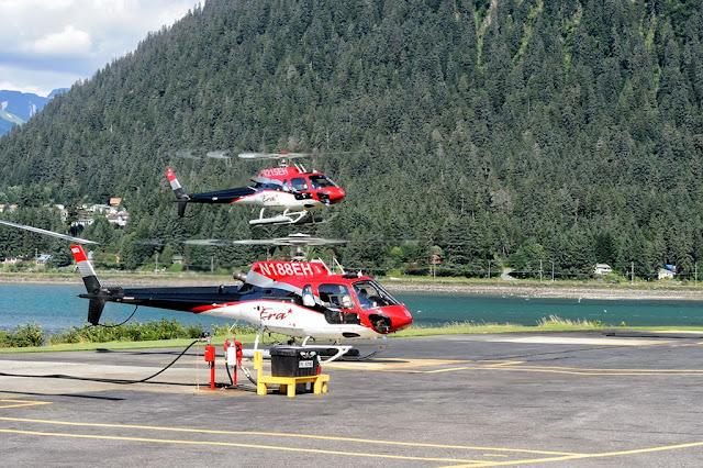 ERA Helicopters in Juneau, Alaska