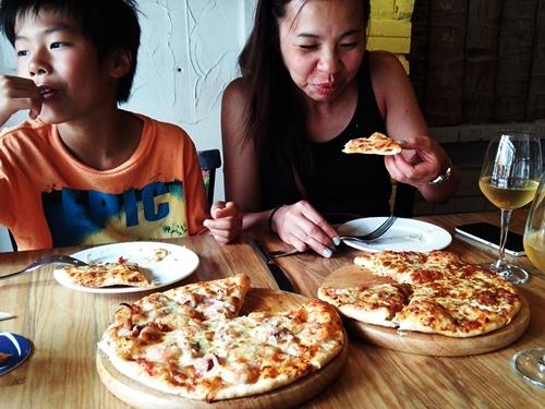 オリビアレストラン(Olivia Restaurant) ピザの店