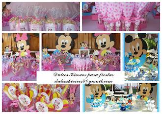 Elegi tu tematica: Minnie y Mickey Bebe!!!