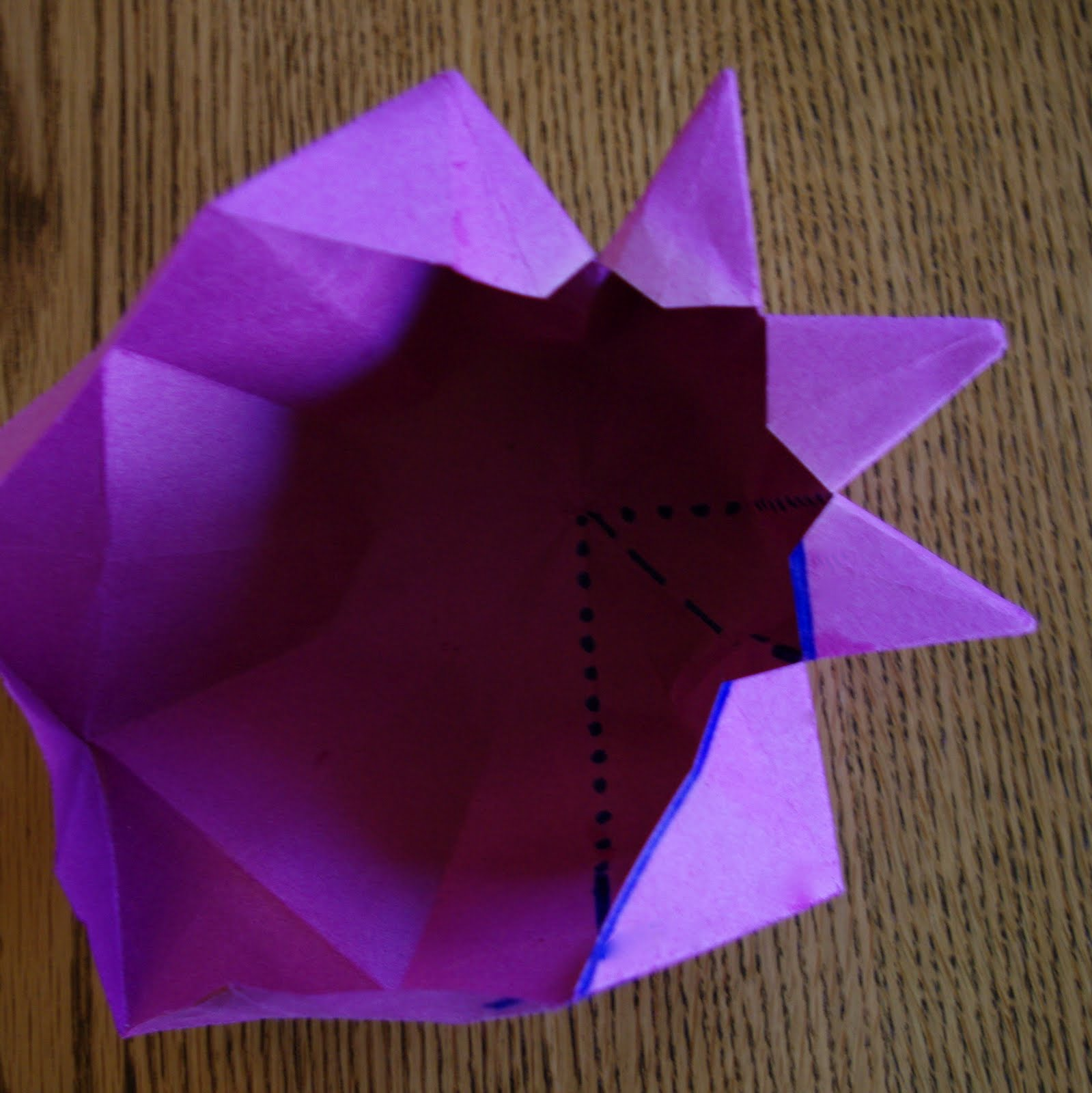 how to make star lantern