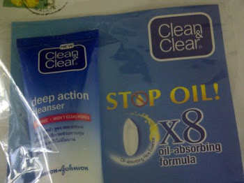 Clean & Clear Deep Action Cleanser. Dapatkan scara percuma! hihi