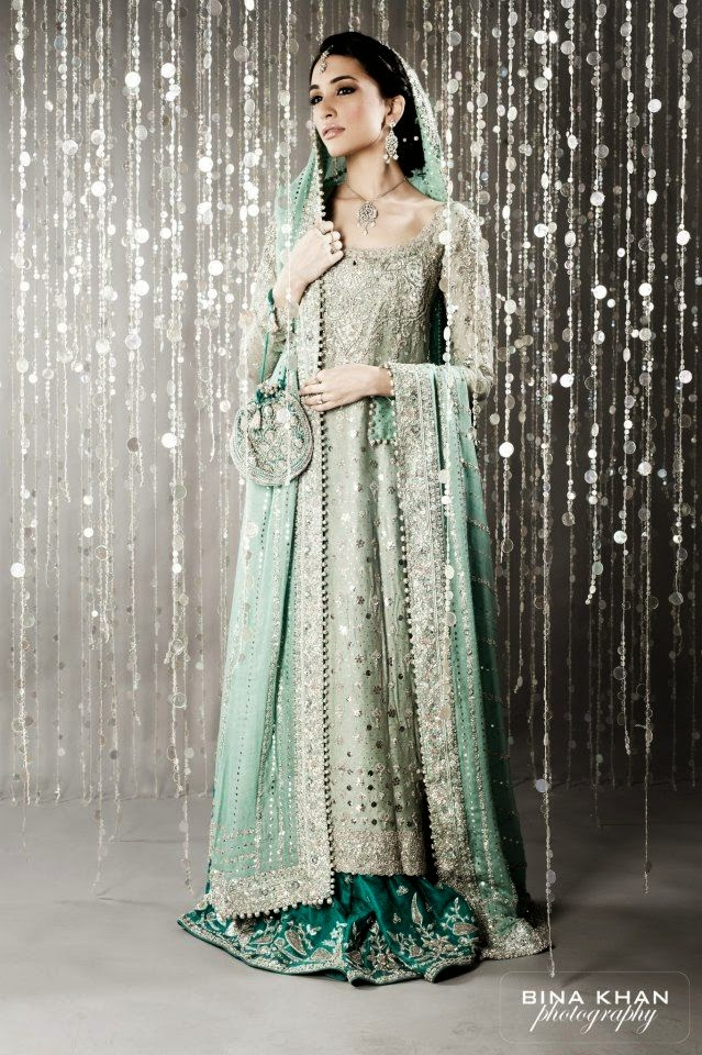 Embroidered fancy asian bridal wedding walima dresses for Asian bridal wedding dresses