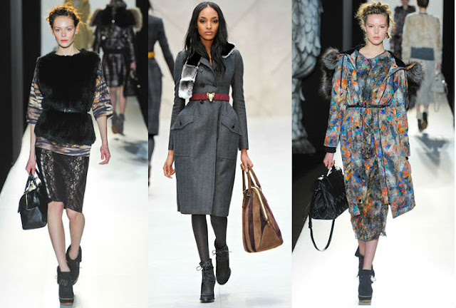 MULBERRY AW12, BURBERRY AW12