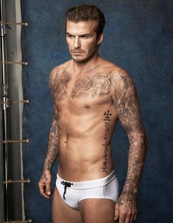 trajes de baño masculino David Beckham H&M verano