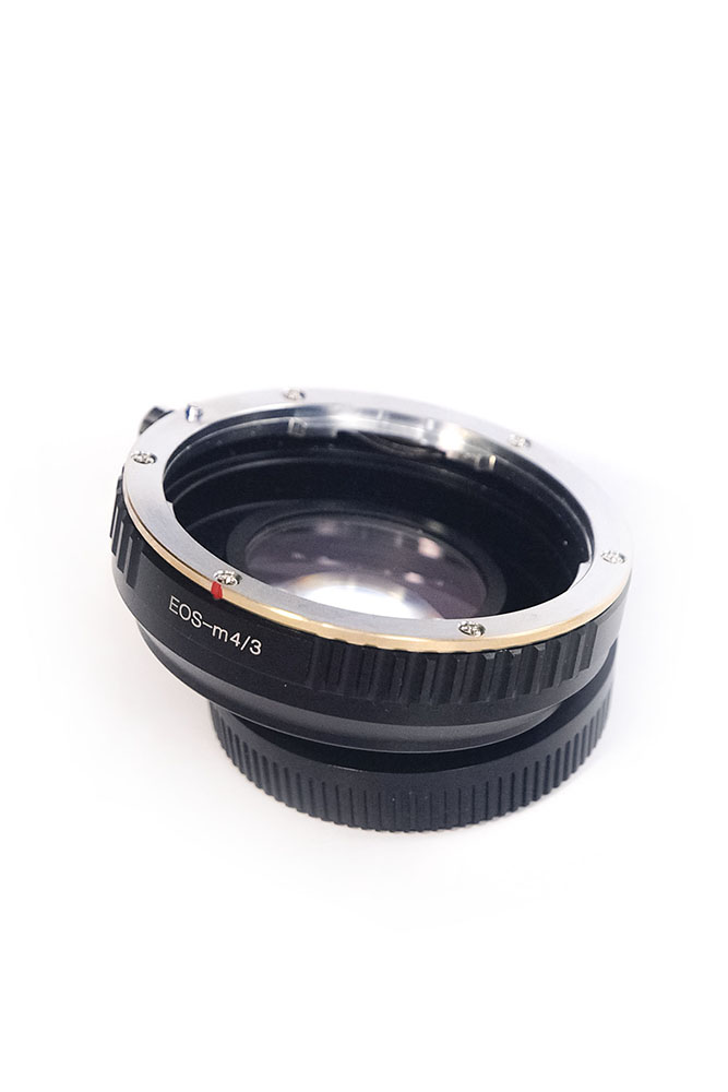 Focal Reducer 0.72x with EF mount for Micro Four Thirds (MFT M4/3)