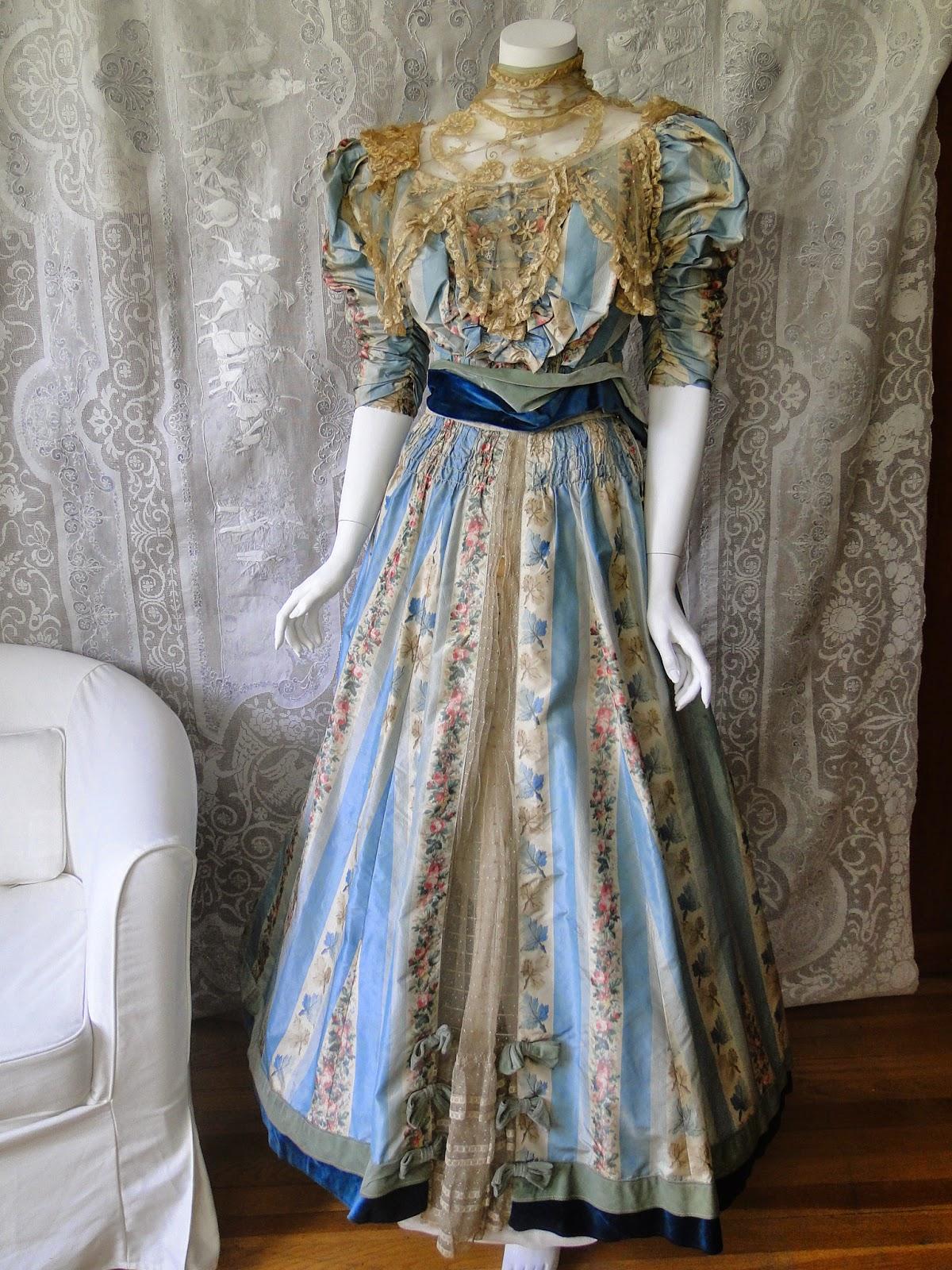 Buyer seller of antique lace fine linens vintage for 1900 haute couture