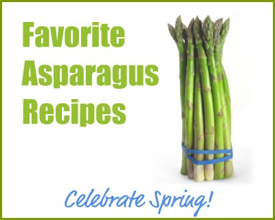 Tips of asparagus recipes
