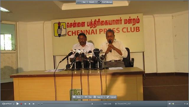 Press Release by RSS Prantha Sanghachalak Ma. M L Raja, Uttar Tamilnadu