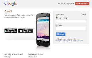 Blog dang ky,dang nhap gmail nhanh