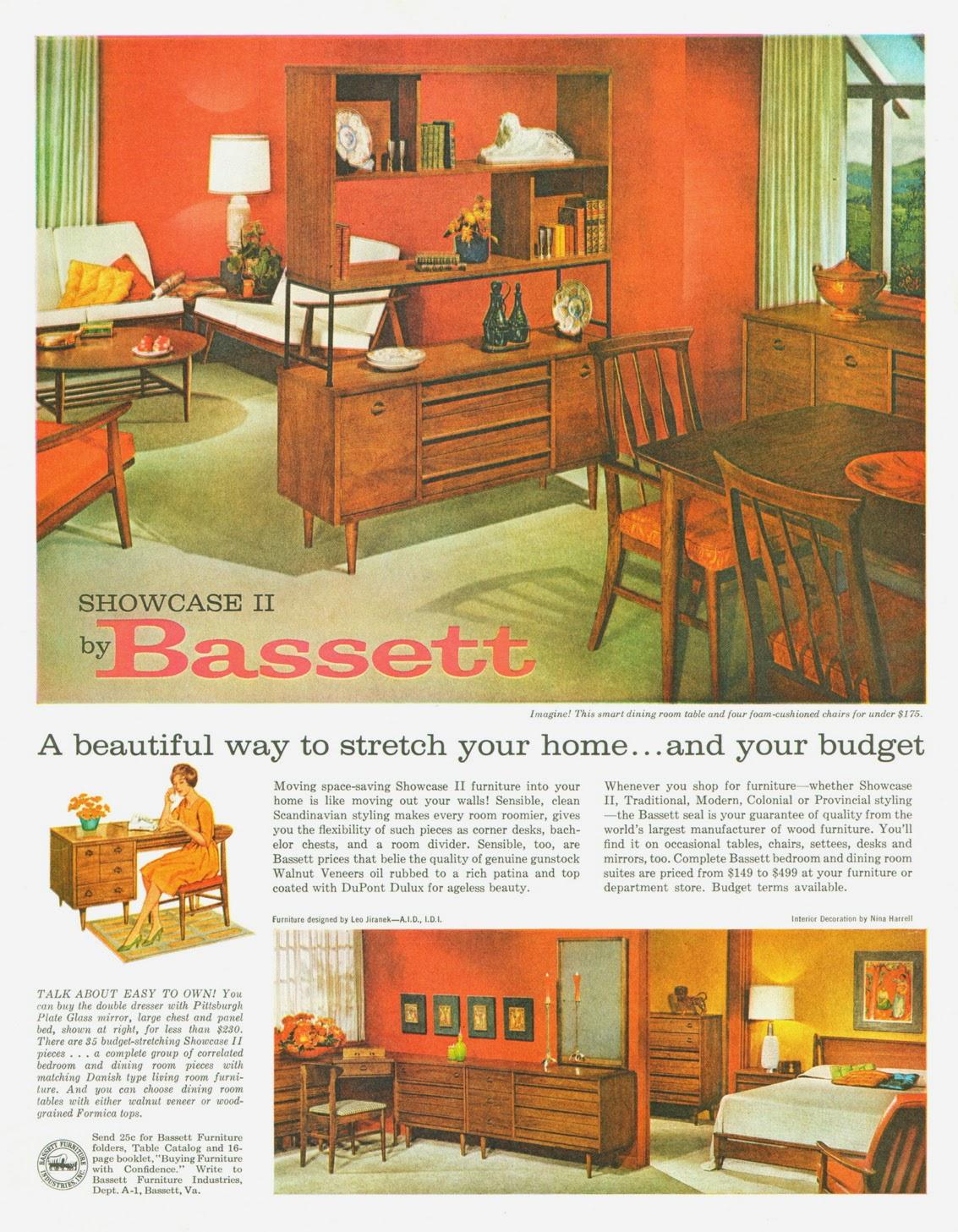 Bassett Furniture 1961