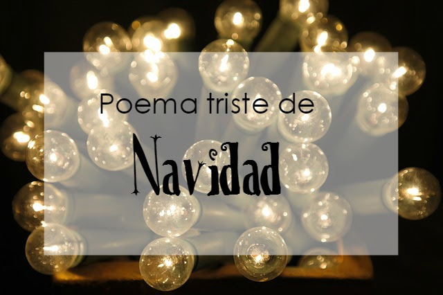Poema triste de Navidad