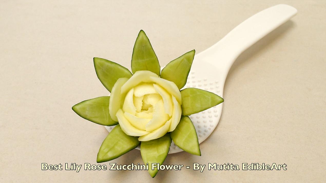 Food artist best rose lily flower ideas quick easy simple art in food artist best rose lily flower ideas izmirmasajfo