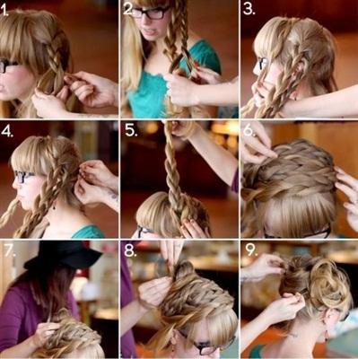 بالصور.. تسريحات للشعر الطويل بالخطوات - شعر ستايل - hair styles
