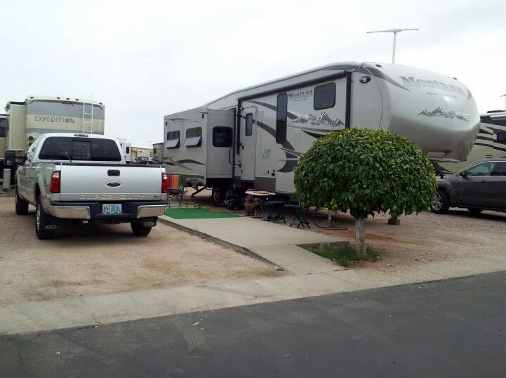 Rving and travels adventures with suzanne and brad mesa for Regal flooring arizona