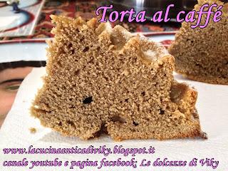 torta al caffe' forma rosellina