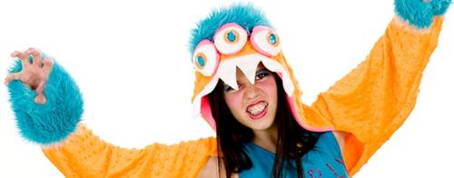 disfraz de monstruo para chica en halloween