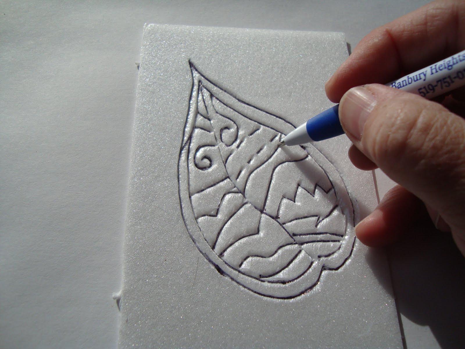 Printmaking styrofoam printmaking tutorial for Making prints of paintings