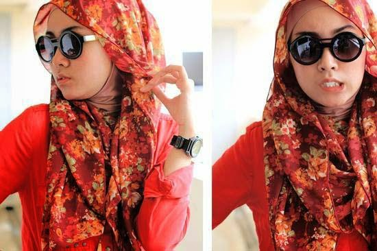 Comment mettre hijab pour visage rond