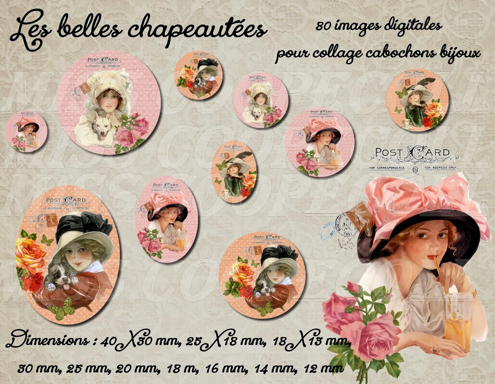 http://www.alittlemarket.com/loisirs-creatifs-scrapbooking/nouveaute_80_images_pour_collage_digital_cabochons_bijoux_les_belles_chapeautees_envoi_par_mail-6891129.html