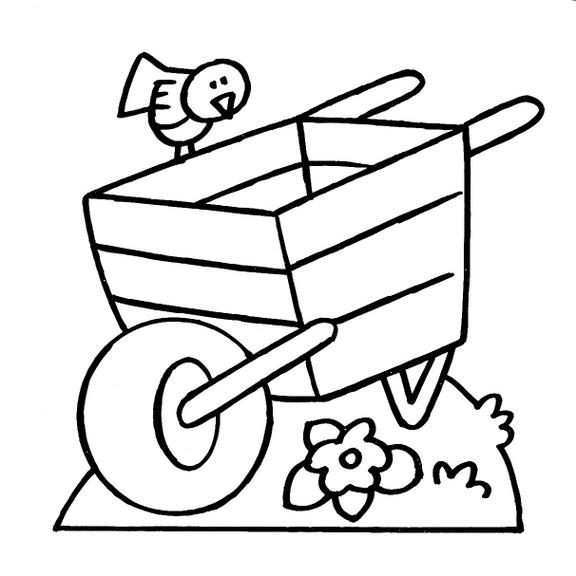 Dibujos infantiles: Dibujo infantil carro