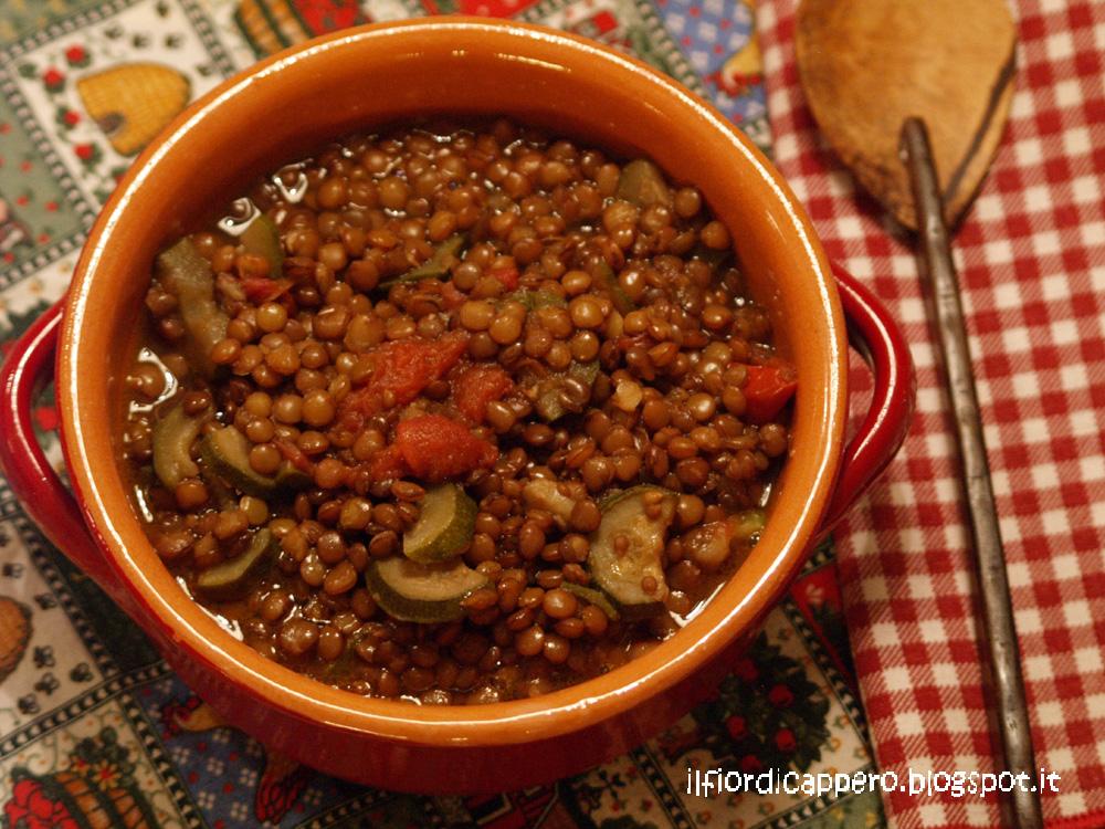 Il fior di cappero - Cucinare le lenticchie ...