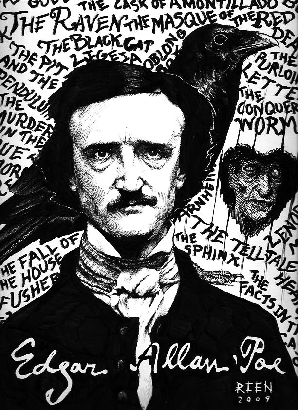 the relation of edgar alan poes work and life Edgar went to the richmond,  it is not hard to see the connection between the nightmare of poe's life and his work  edgar allan poe: his life and legacy.