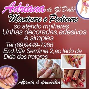 ADRIANA MANICURE E PEDICURE