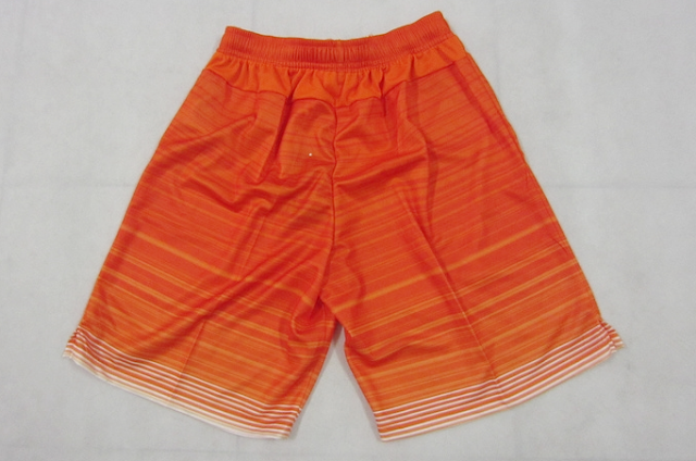 15-16 Season Netherlands Team Away Orange Color Soccer Short