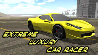 Screenshots of the Extreme luxury car racer for Android tablet, phone.