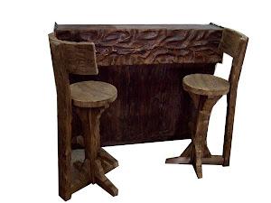 Eskitme bar takımı