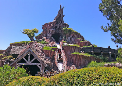 Splash Mountain Disneyland 2012