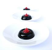 Gelatina di Sambuco con Crema di Fragola